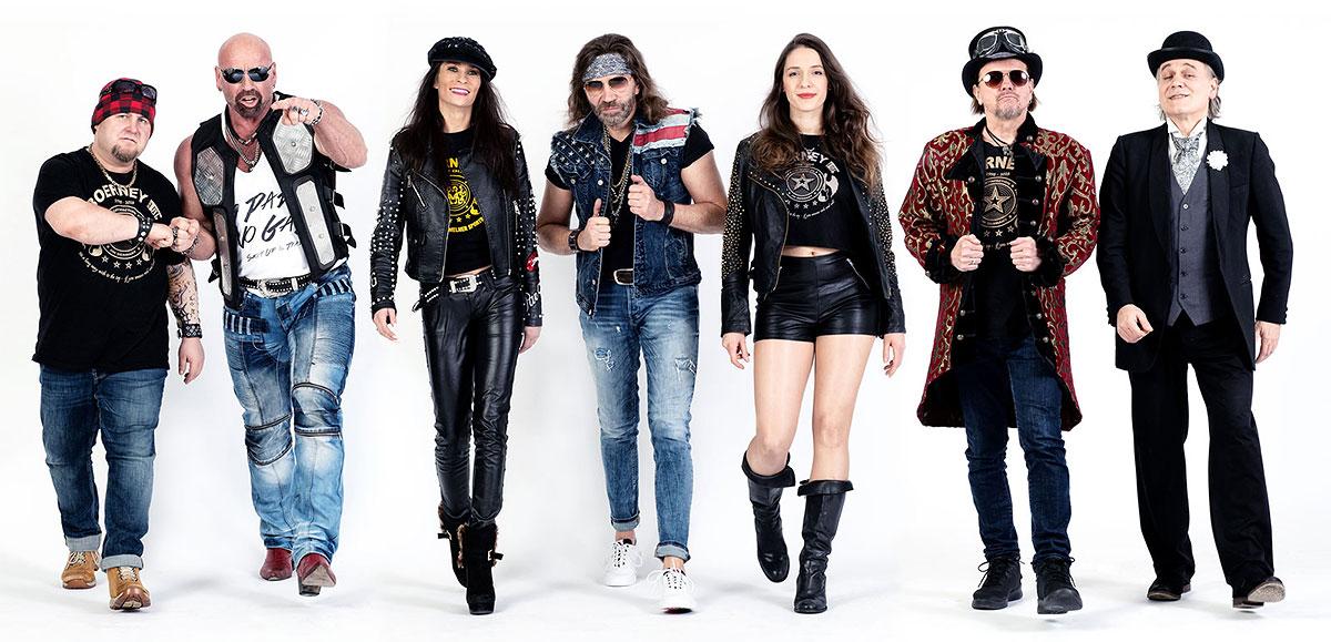 Bandfoto der Rock - Partyband Boerney