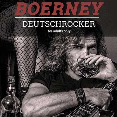 CD Cover von Boerney Deutschrock-Album