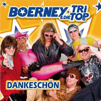 Cover vom Album 'Dankeschön' der Partyband Boerney