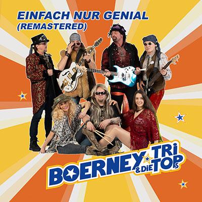 Cover vom Album 'Einfach nur genial' der Partyband Boerney