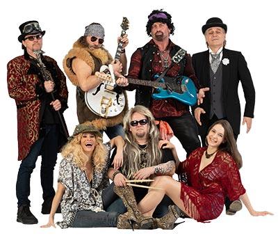 Boerneys Partyband Bandfoto zum Download für Veranstalter