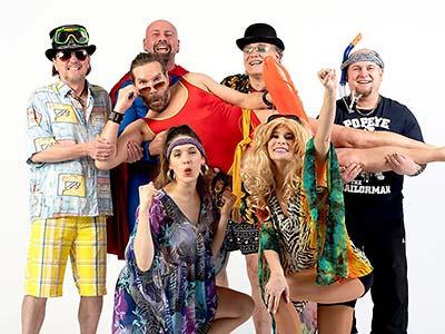 Bandfoto Partyband, Coverband Boerney